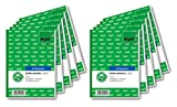 Sigel li625Contenuto banconote con Ricezione Schein, A6, 2X 50fogli, 1pezzi con blu, 2 x 50 pagine (10x confezione) 10 pezzi