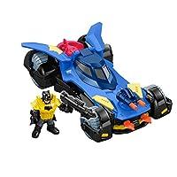 Imaginext DC Super Friends Delüks Batmobil, Batman Aksiyon Figürü ve 3 Adet Fırlatıcılı DHT64