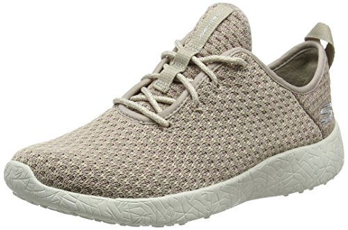 Skechers Damen Burst Sneakers, Beige (NAT), 40 EU