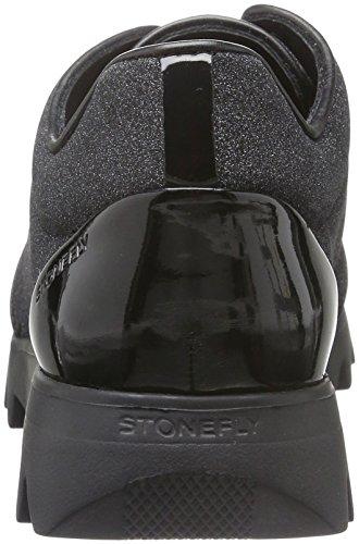 Stonefly Speedy Lady 3, Scarpe da Ginnastica Basse Donna Nero (Nero/Black 000)