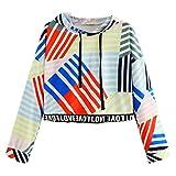 NPRADLA 2018 Frauen Langarm Slogan Print Hoodie Brief Druck Sweatshirt Bluse Tops