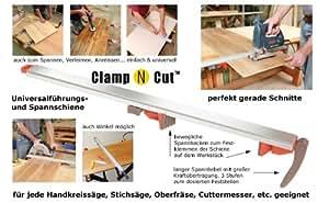 sauter Universal Rail de Guidage CLAMP N CUT 100 cm