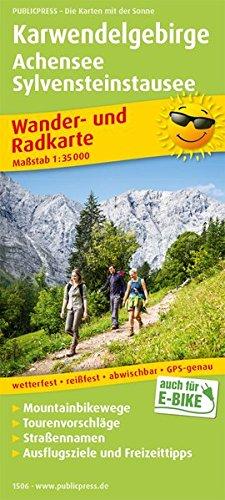 Karwendelgebirge, Achensee, Sylvensteinstausee: Wander- und Radkarte mit Ausflugszielen & Freizeittipps, wetterfest, reißfest, abwischbar, GPS-genau. 1:35000 (Wander- und Radkarte / WuRK)