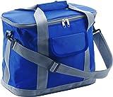 Kühltasche Kobaltblau aus hochwertigem 420D Nylon mit Schultergurt