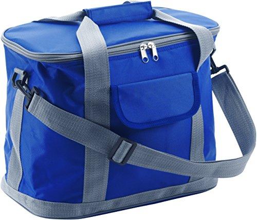 Kühltasche Kobaltblau aus hochwertigem 420D Nylon mit Schultergurt (Baby Flasche Bier Trinken Kann)
