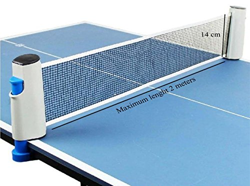 Hi-Quality and Innovative Retractable Table-Tennis Net with Adjustable Length and...