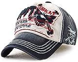 DUSISHIDAN Baumwolle Baseball Cap aus Gewaschener Denim Vintage Distressed Kappe für Damen und Herren