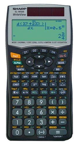 Sharp EL-W506 wissenschaftlicher Schulrechner, WriteView, SEK II, Twin-Power