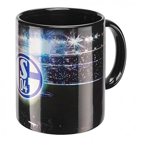 FC Schalke 04 Kaffeebecher Flutlicht
