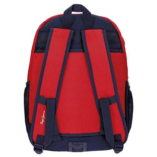 Imagen de pepe jeans 62824a1 dalton  escolar, 23.94 litros, color azul alternativa