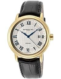 Raymond Weil - Reloj de pulsera hombre, piel, color marrón
