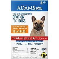 Adams Plus - Prevención de pulgas y garrapatas para perros tópico