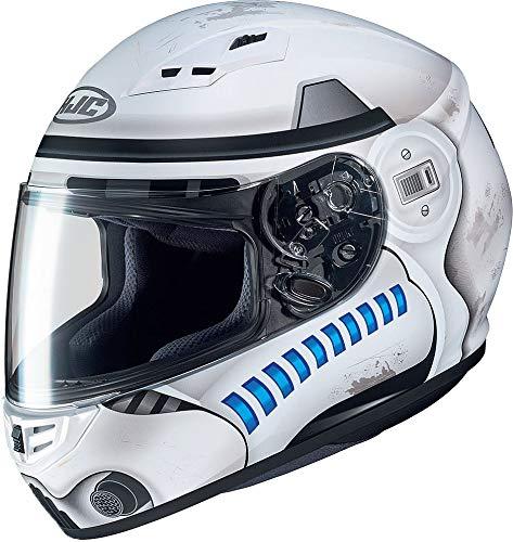 Motorradhelm HJC CS 15 STORMTROOPER STAR WARS MC10SF, Weiss/Blau, M