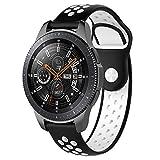 squarex silicone Band cinturino da polso per Samsung Galaxy orologio Classic Smart Watch 42mm, per Samsung orologio 46mm, donna, B, For Samsung Watch 46MM