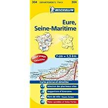 Carte DPARTEMENTS Eure, Seine-Maritime