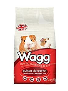 Wagg Guinea Pig Crunch 2 kg (Pack of 6)
