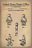 Nwfs Brevetto Entwurf per Giocattolo - Steck - Figura Targa di Latta Poster Metallo Scudo Metallo Stagno Firmare ad Arco Verniciato 20 x 30 CM