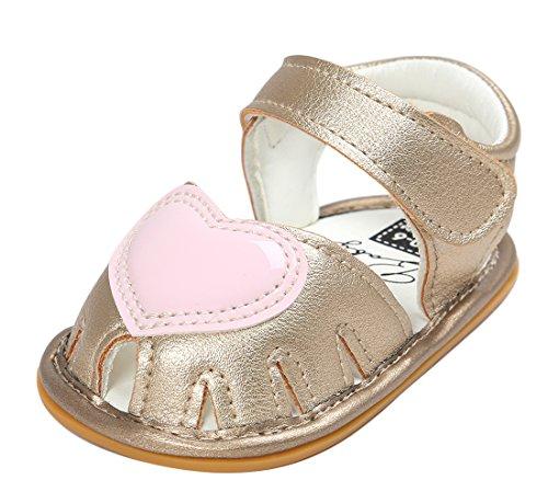 EOZY Chaussures Princesse Été Shoes Première Pas Sandales Casual Bas Marche Bébé Fille