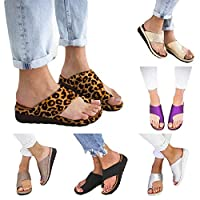ludonie Non-Slip Platform Slipper Wedge Sandals Flip Flops Shoes Women's Toe Sandals