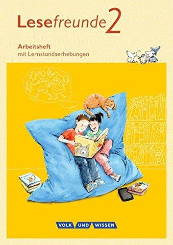 Lesefreunde - Östliche Bundesländer und Berlin - Neubearbeitung 2015: 2. Schuljahr - Arbeitsheft