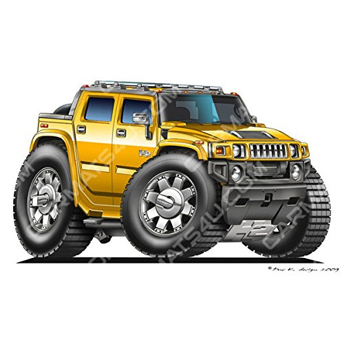 hummer-h2-vinyl-wall-art-sticker-yellow