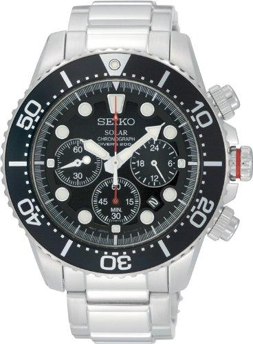 Seiko ssc015pc–Armbanduhr, Armband in Edelstahl