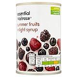 Las frutas de verano en jarabe esencial 290g Waitrose