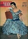 Votre Mode - n°437 - 07/07/1955 - Robe Jean Desses (couv.) / Une grande nappe (patron)