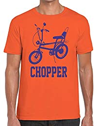 Funky NE Ltd Raleigh Chopper Retro Tshirt - 100% Cotton - Small to XXL - 6 Colours - Great Gift Idea by
