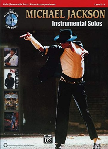 Michael Jackson Instrumental Solos for Strings: Cello, Book & CD