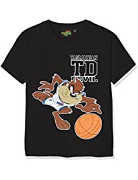 LOONEY TUNES Boy's Taz Basketball Short Sleeve T-Shirt
