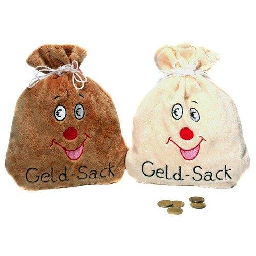 Geld Sack Kostüm - Udo Schmidt 58175 Pl�schsack f�r Geldgeschenke GELD-SACK