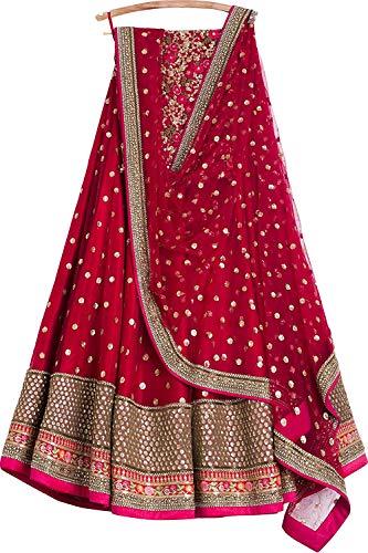 REKHA Ethinc Shop-Braut Stickerei indischen Bollywood Designer Lehenga Choli A311 Lehenga Designer