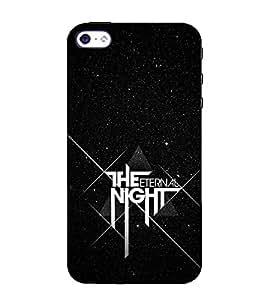 Fuson Designer Back Case Cover for Apple iPhone SE (Stars Night Evening Eternal Night)