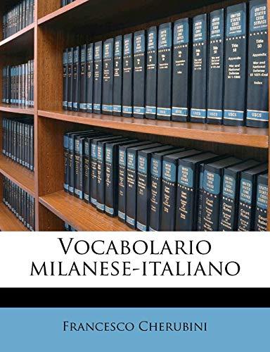 Zoom IMG-1 vocabolario milanese italiano
