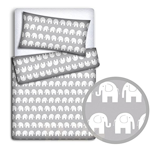 Baby Bedding Set Pillowcase + Du...