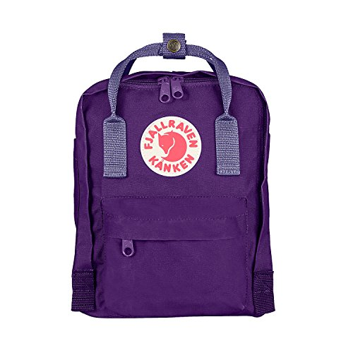 Fjällräven Kånken Mini Kinder Rucksack, Purple-Violet, 29 x 20 x 13 cm