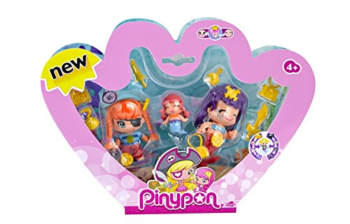 Famosa 700013366 - Pinypon Pirata e Sirene Pack