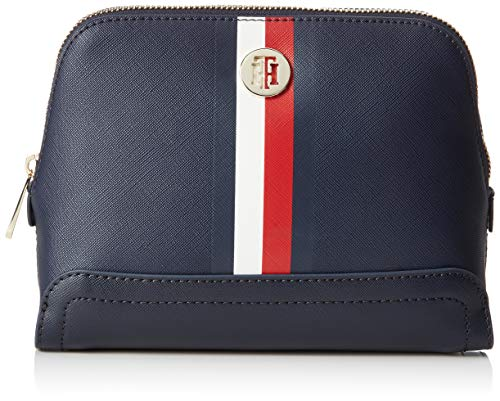 Tommy Hilfiger Damen Honey 2 In 1 Washbag Stoff und Strandtasche, Blau (Corporate), 7.5x15.5x22 cm