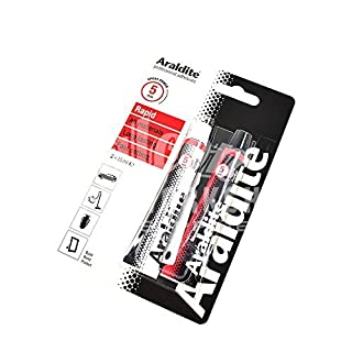 ARALDITE® TWO PART EPOXY 2 x 15ml TUBES RAPID FAST STRONG GLUE RESIN ADHESIVE