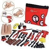 NextX Werkzeug Spielzeug Set Spielwerkzeug 69 Stücke Tool Set Kinder Rollenspiel Geschenke Für Jungen Mädchen