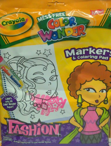 Crayola Color Wonder Looney Tunes Coloring Pad Refill Book