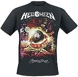 Photo de Helloween Tour Collage T-Shirt Manches Courtes Noir par Halloween