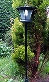 Garden Lamp post_solar powered_led light_1.33m