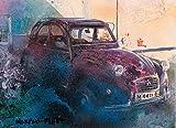 Citroën 2CV Voiture Classique Peinture Originale