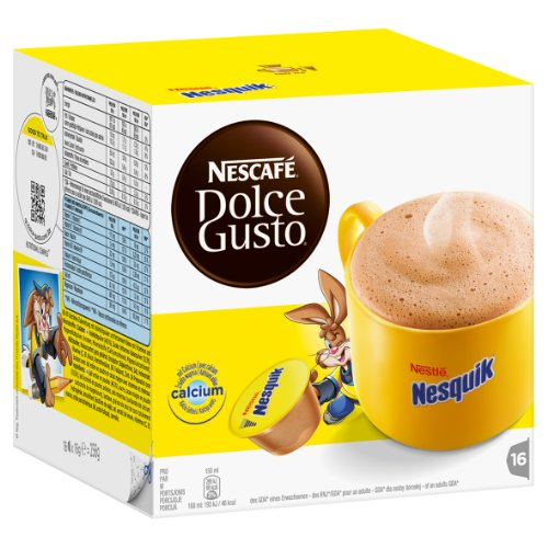 Buy Nescafé Dolce Gusto Nesquik, Pack of 4, 4 x 16 Capsules by Nestlé