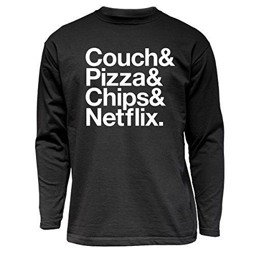 nukular-langarm-t-shirt-couch-pizza-chips-netflix-farbe-schwarz-grosse-s