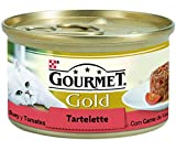Purina  Gourmet  Gold Tartalette Con Buey y Tomate - 85 g