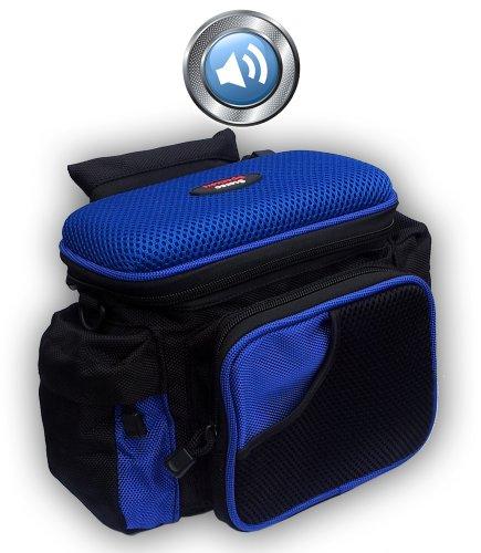 Fahrrad Lenkertasche-Kameratasche mit Musik,Lautsprecher+Verstärker für iPod,iPhone,MP3,Handy uvm. Handy Mp3 Lautsprecher