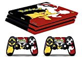 Skin Ps4 PRO - POKÉMON - limited edition DECAL COVER Schutzhüllen Faceplates playstation 4 SONY BUNDLE - VINYL POLIERTEN